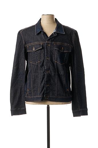 Veste en jean bleu TOMMY HILFIGER pour homme