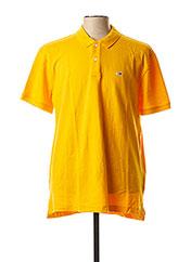 Polo manches courtes orange TOMMY HILFIGER pour homme seconde vue