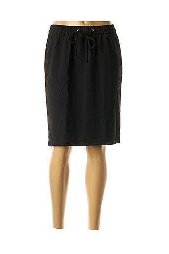 Jupe mi-longue noir CKS pour femme
