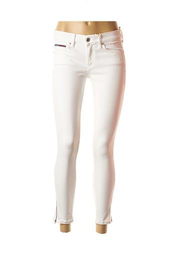 Jeans skinny blanc TOMMY HILFIGER pour femme
