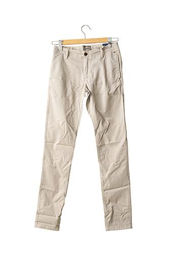 Pantalon chic beige TOMMY HILFIGER pour homme
