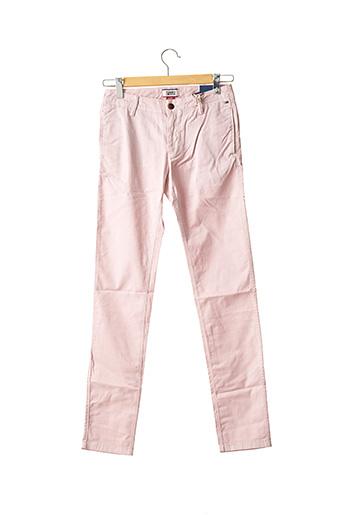 Pantalon chic rose TOMMY HILFIGER pour homme