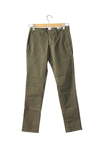 Pantalon chic vert HAPPY pour homme