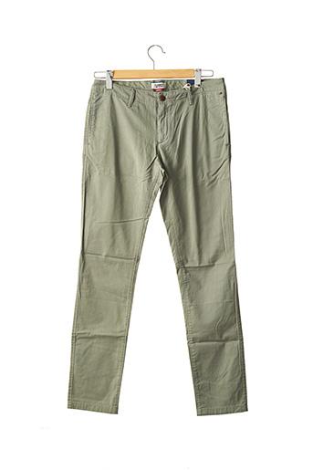 Pantalon chic vert TOMMY HILFIGER pour homme