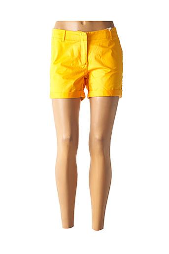Short jaune TOMMY HILFIGER pour femme