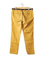 Pantalon chic jaune SELECTED pour homme seconde vue