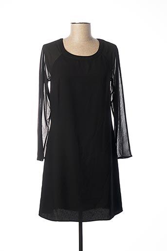 Robe courte noir NAF NAF pour femme