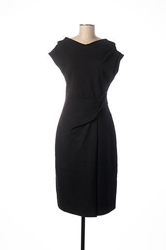 Robe mi-longue noir ADOLFO DOMINGUEZ pour femme