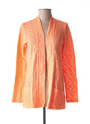 Gilet manches longues orange O'NEILL pour femme