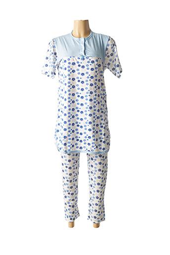 Pyjama bleu DIVAMORE pour femme