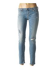 Jeans coupe slim bleu ARMANI pour femme seconde vue