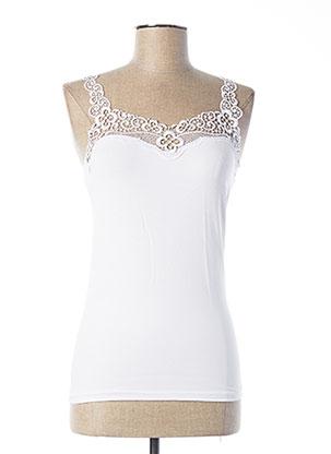 Top/Caraco blanc DIVAMORE pour femme