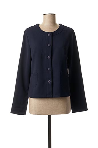 Veste casual bleu A BELLE pour femme