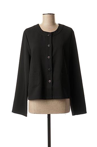 Veste casual noir A BELLE pour femme