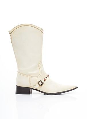 Bottines/Boots blanc SAN MARINA pour femme