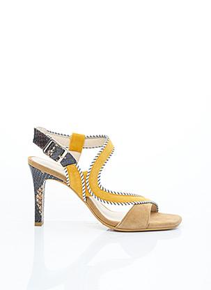 Sandales/Nu pieds beige LODI pour femme