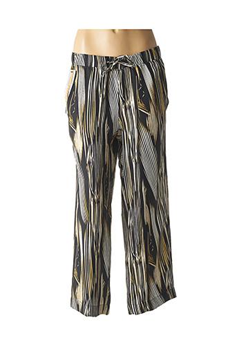 Pantalon casual noir ZERRES pour femme