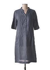 Robe mi-longue gris NINATI pour femme seconde vue