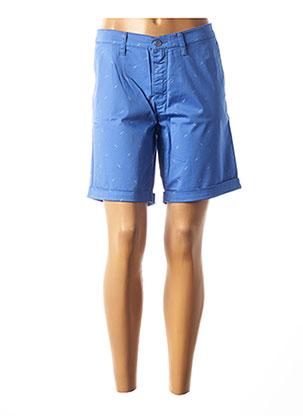 Bermuda bleu LCDN pour femme