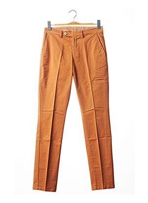 Pantalon chic orange STOZZI ADRIANO pour femme