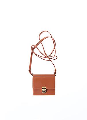 Porte-monnaie marron POLÈNE pour femme