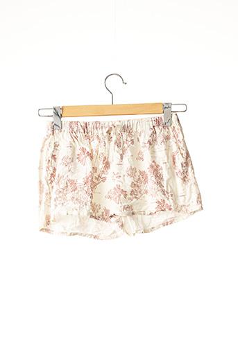 Pyjashort beige ETAM pour femme