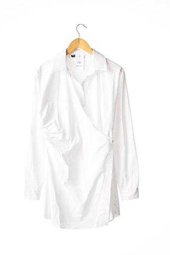 Robe courte blanc NASTY GAL pour femme