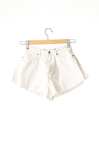 Short blanc LOAVIES pour femme