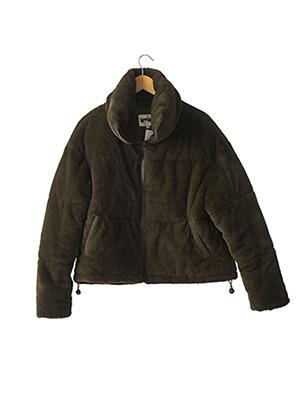 Manteau court vert APPARIS pour femme
