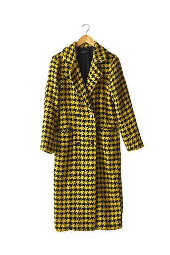 Manteau long jaune HOUSE OF HARLOW pour femme