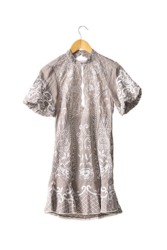 Robe courte gris ASOS pour femme