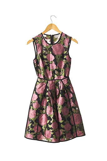Robe mi-longue rose ASOS pour femme