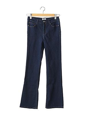 Jeans bootcut bleu LA REDOUTE pour femme