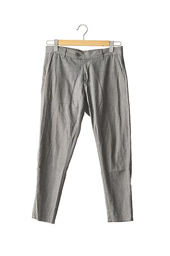 Pantalon casual gris ZARA pour homme