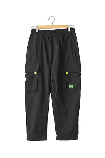 Pantalon casual noir STUDIO pour homme
