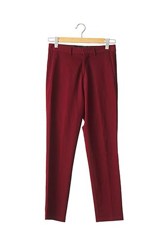 Pantalon casual rouge ZARA pour homme