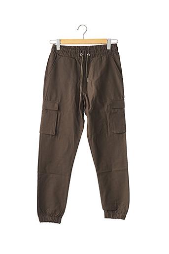Pantalon casual vert BOOHOO pour homme