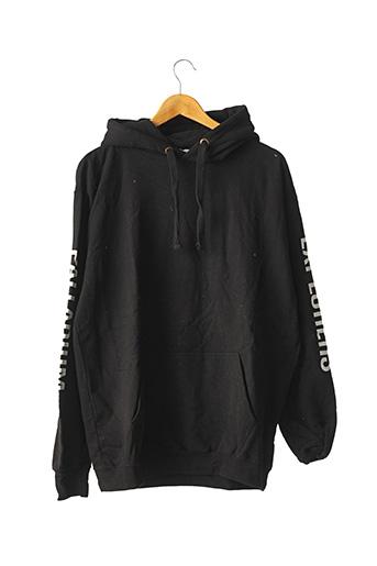 Sweat-shirt noir AWDISBRANDS pour homme