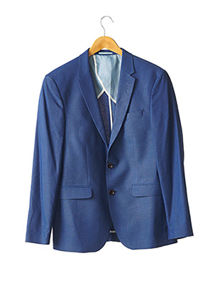 Veste chic / Blazer bleu FARUK pour homme