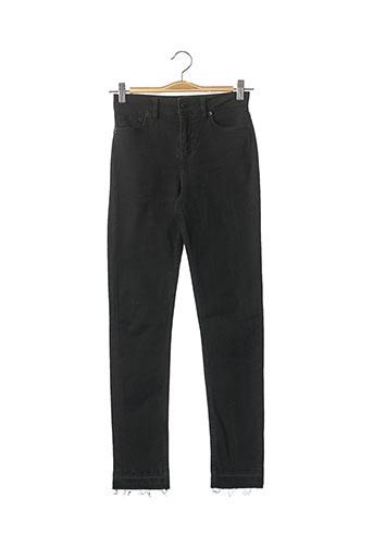 Jeans coupe slim noir MAJE pour femme