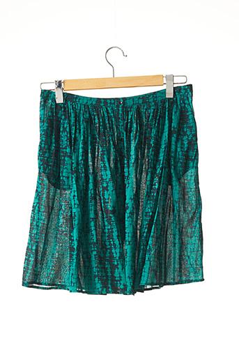 Jupe mi-longue vert BA&SH pour femme
