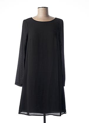 Robe mi-longue noir KOCCA pour femme