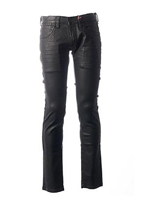 Pantalon casual noir FREEMAN T.PORTER pour homme