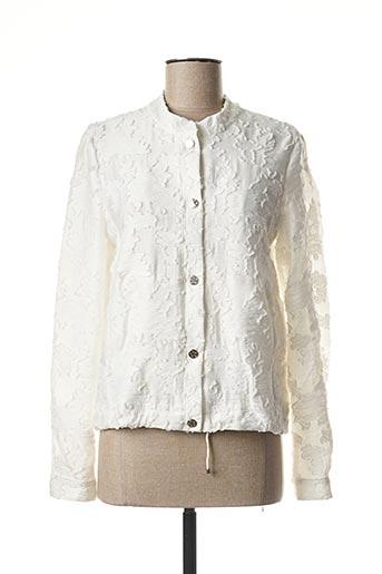 Veste casual blanc BASLER pour femme
