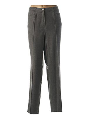 Pantalon chic gris BASLER pour femme