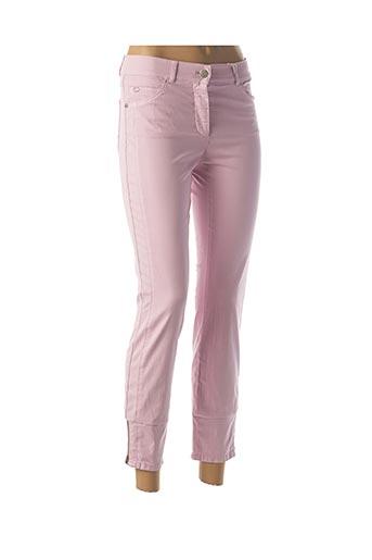 Pantalon 7/8 rose GERRY WEBER pour femme