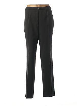 Pantalon casual noir KARTING pour femme