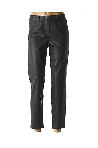 Pantalon 7/8 noir LUISA CERANO pour femme