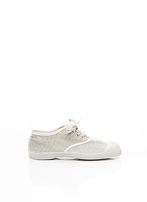 Baskets gris BENSIMON pour fille