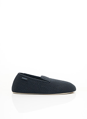 Chaussons/Pantoufles bleu ISOTONER pour homme